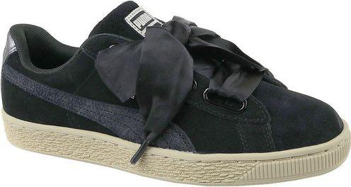 Puma Buty damskie Basket Heart Metallic Safari czarne r. 40 (364083-03)