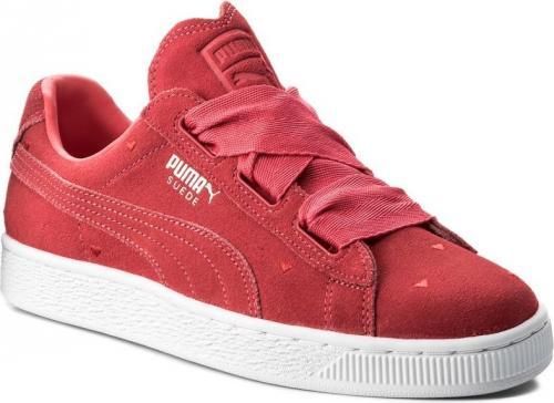 c334c589 Puma Buty juniorskie Suede Heart Jr czerwone r. 37 (365135-01)