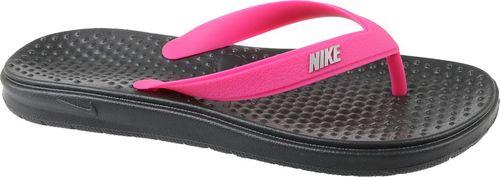 Nike Japonki damskie Solay Thong czarno-różowe r. 36 (882828-002)