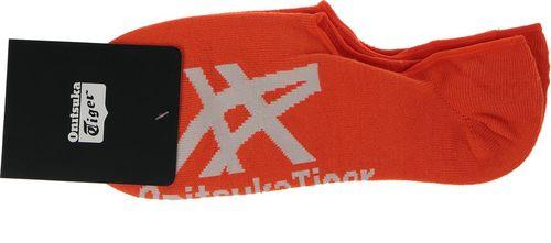 Onitsuka Tiger Skarpety unisex Invisible Socks pomarańczowe r. L (OKG510-2301)