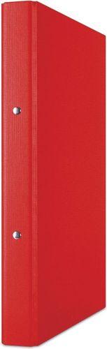 Segregator Donau Segregator ringowy DONAU, PP, A4/2R/20mm, czerwony 3732001PL-04