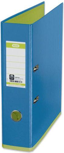 Segregator Elba Colour dźwigniowy A4 80mm niebieski (HAME1264)