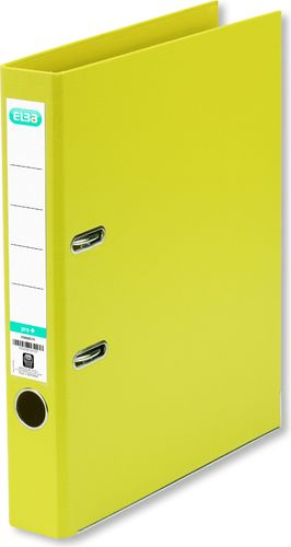 Segregator Elba Pro+ dźwigniowy A4 50mm żółty (HAME0625)