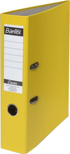 Segregator HAMELIN Segregator ringowy Bantex Classic A4 grzbiet 50 mm żółty