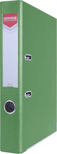 Segregator Office Products Segregator dźwigniowy Officer A4/55 z szyną zielony 21011121-02