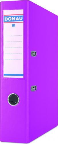 Segregator Donau Master dźwigniowy A4 70mm różowy (PBSX0032)