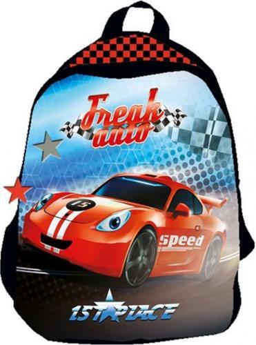 Beniamin Plecak mały Freak Auto czarny (BENI2522)
