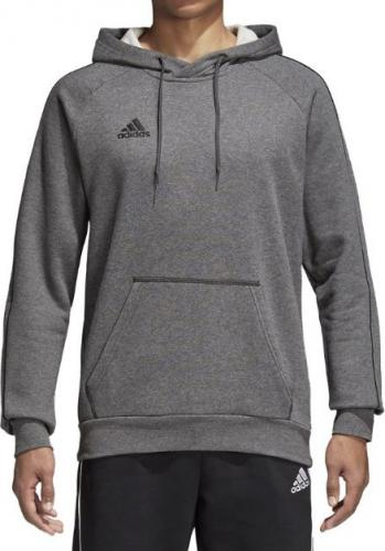 Adidas Bluza piłkarska Core18 Hoody szara r. M (CV3327)