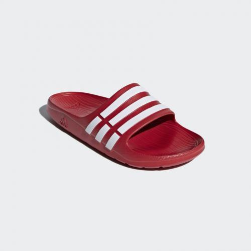 Adidas Klapki męskie Duramo czerwone r. 47 (G15886)