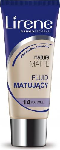 Lirene Nature Matte Nr 14 Karmel 30 ml