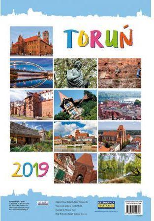 LITERAT Kalendarz ścienny 2019 Toruń