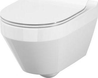 Miska WC Cersanit Crea New Clean-On + deska duroplastowa slim (S701-212)