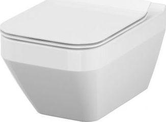 Miska WC Cersanit Miska wisząca Crea New Clen-On prostokątna z deską wolnoopadającą slim durplast (S701-213)