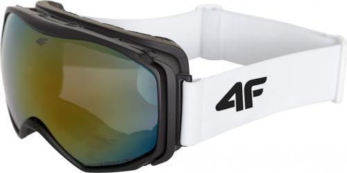 4f Gogle narciarskie damskie białe H4Z18-GGD001