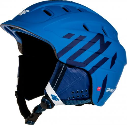 4f Kask narciarski unisex niebieski r. L /XL (H4Z18-KSU002)