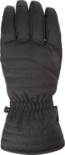 4f Rękawiczki męskie H4Z18-REM001 czarne r. XL