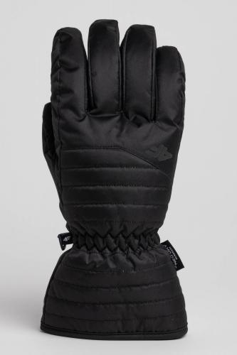 4f Rękawiczki męskie H4Z18-REM001 czarne r. M