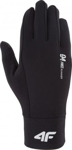 4f Rękawiczki zimowe unixex H4Z18-REU002 czarne r. M