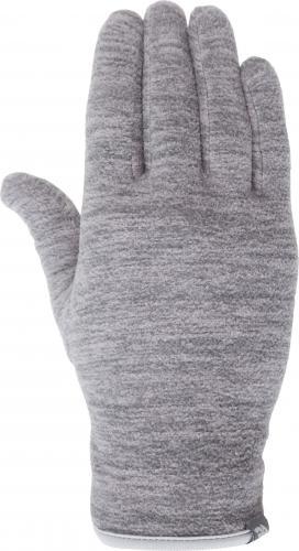 4f Rękawiczki unixex H4Z18-REU001 szary melanż r. L