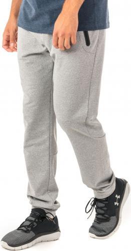 4f Spodnie męskie funkcyjne H4Z18-SPMTR001 jasnoszare r. XL