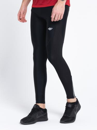 4f Spodnie męskie H4Z18-SPMF002 czarne r. L