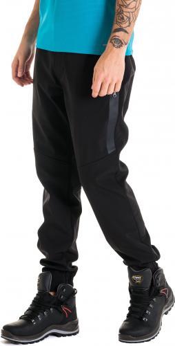 4f Spodnie męskie trekkingowe softshell H4Z18-SPMT001 czarny r. L