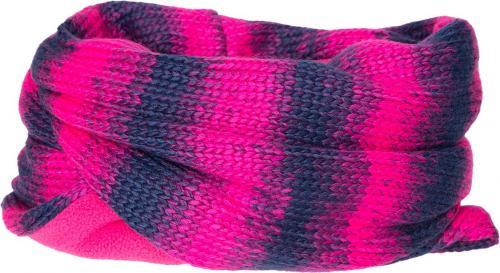 4f Komin damski H4Z18-SZD004 niebiesko-różowy