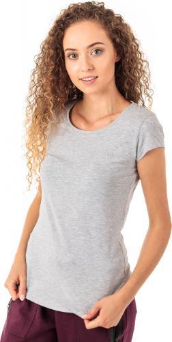 4f Koszulka damska H4Z18-TSD001 szary melanż r. M