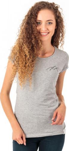 4f Koszulka damska H4Z18-TSD002 szary melanż r. M