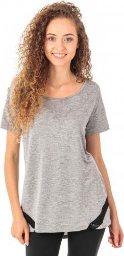 4f Koszulka damska H4Z18-TSDF003 jasnoszary melanż r. L