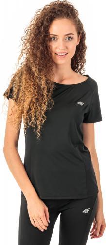 4f Koszulka damska H4Z18-TSDF002 czarna r. XL