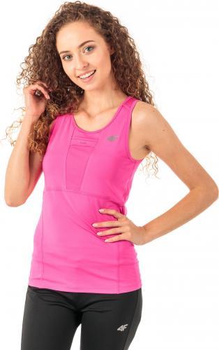 4f Koszulka damska H4Z18-TSDF001 różowa r. M