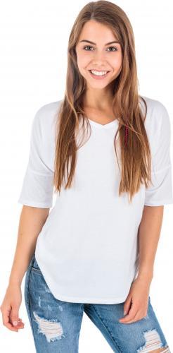 4f Koszulka damska H4Z18-TSDL001 biała r. S