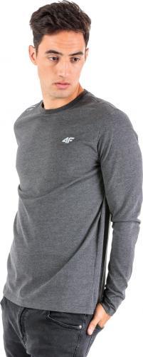 4f  Koszulka męska H4Z18-TSML001 szara r. XL