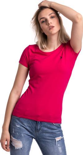 Outhorn Koszulka damska Basic Shape Tee różowa r. L
