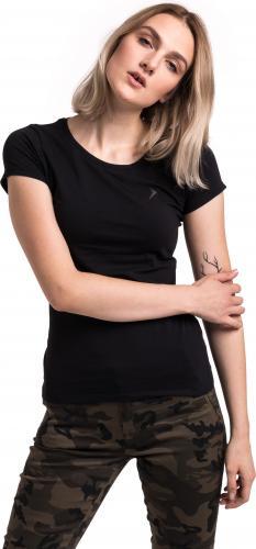 Outhorn Koszulka damska Basic Shape Tee czarna r. L