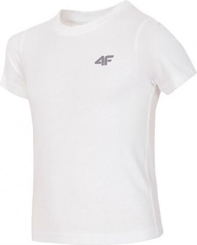 Outhorn Koszulka dziecięca HJZ18-JTSM001 biała r. 134