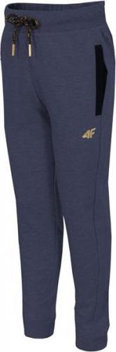 Outhorn Spodnie dresowe dziecięce HJZ18-JSPDD001 granatowy r. 128