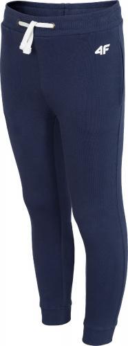 Outhorn Spodnie dresowe dziecięce HJZ18-JSPMD001 granatowy r. 146