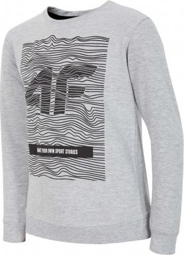 Outhorn Koszulka longsleeve dziecięca HJZ18-JTSML001 szara r. 146