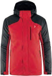 Outhorn Kurtka narciarska męska HOZ18-KUMN602 czerwona r. XL