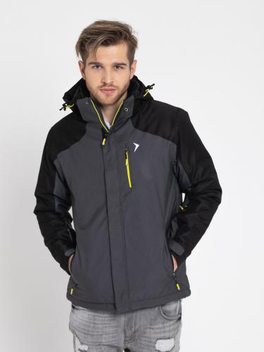Outhorn Kurtka narciarska męska HOZ18-KUMN602 ciemnoszary melanż r. XL