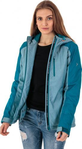 Outhorn Kurtka narciarska damska HOZ18-KUDN601 turkusowy melanż r. M