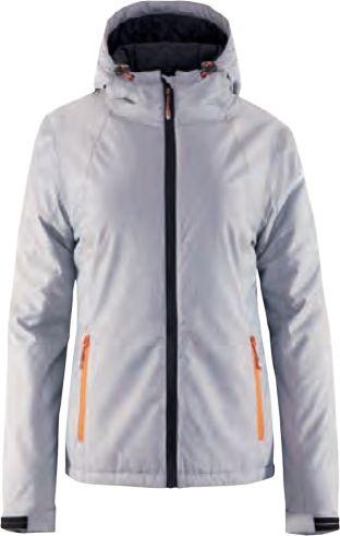 Outhorn Kurtka narciarska damska HOZ18-KUDN600A jasnoszary melanż r.XL