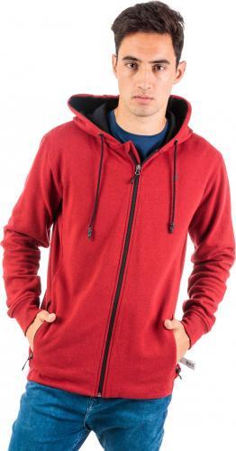Outhorn Bluza męska Comfy Zip Hoodie czerwona r. XL