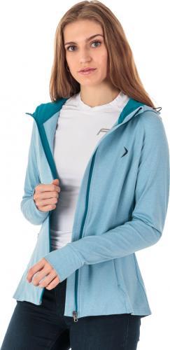 Outhorn Bluza damska Modern Zip Comfy jasnoniebieski melanż r. S