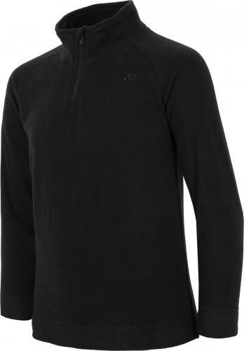 Outhorn Bluza dziecięca HJZ18-JBIUP001 czarna r. 134