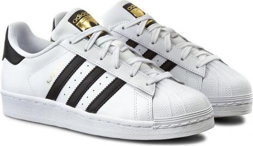 d4c40e41088da Adidas Buty damskie Superstar J białe r. 36 2/3 (C77154)