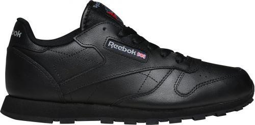 Reebok Buty dziecięce Classic Leather czarne r. 34.5 (50149)