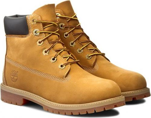 Timberland Buty dziecięce 6 In Premium WP Boot Jr żółte r. 35.5 (12909)